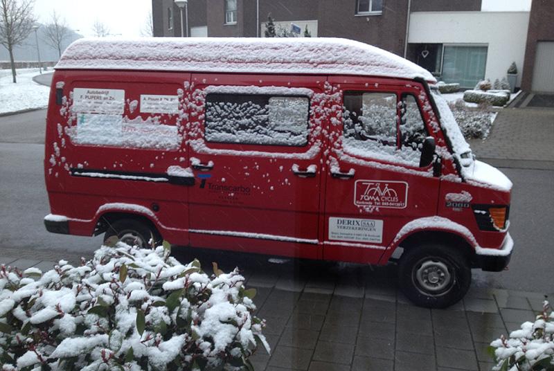 Banneux-sneeuw